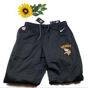 Nike NFL Vikings Black Sideline Performance Pants